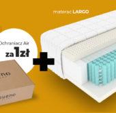 Gueno Blog - Kup materac LARGO i zaoszczędź nawet do 278 zł kupując ochraniacz Air za 1zł